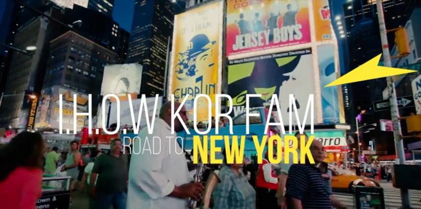 I.H.O.W. KOEA FAMM 뉴욕행 준비