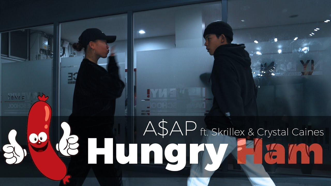 A$AP ft. Skrillex & Crystal Caines – Hungry Ham (Dance. J-fire)