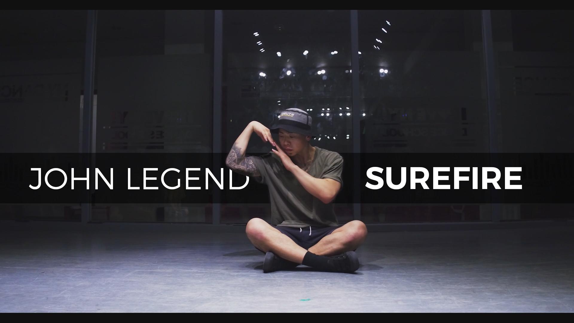 John Legend – Surefire (choreography_J-swag)