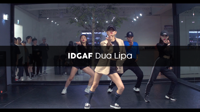 Dua Lipa – IDGAF (choreography_Anggo)