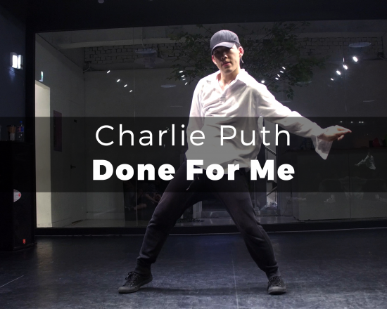 Charlie Puth   Done For Me choreography Peri