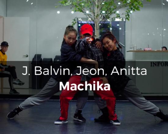 J. Balvin, Jeon, Anitta – Machika (choreography_J-fire)