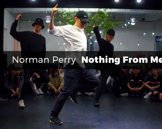 Norman Perry – Nothing From Me (choreography_U-Man)